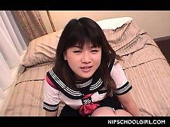 Cute jap doll in school uniform...