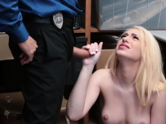LP Officer stuff his cock on...
