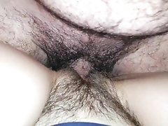 Morning cock jerking ended with...