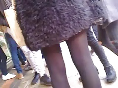Sexy teen tights