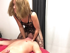 Femdom ride on his face