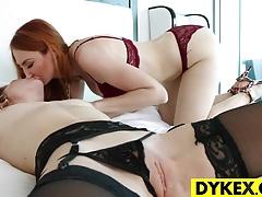 BDSM Lez Kendra James And Raylin...