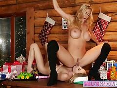 Mrs Santa makes sex toys dildos...